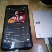 Portable devices and listening to DSD