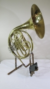 French Horn with iPhone